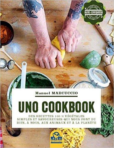 UNO Cookbook, le livre, est un recueil de recettes simples, qui ne prévoient que des ingrédients de saison, et raconté sans indiquer une durée de